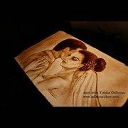 Шоу песочной анимации и светопись в Курске