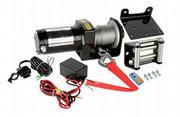 Лебедка электрическая Electric Winch 2000 lbs,  ATV (кевлар трос)