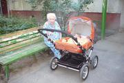 Продам немецкую коляску для двойни